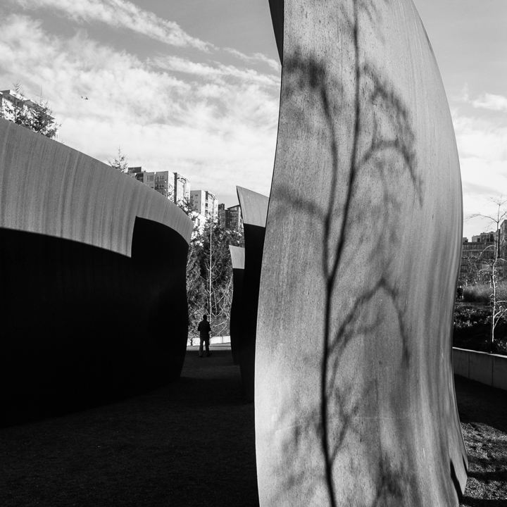 Photo Wake de Richard Serra, Olympic Sculpture Park, Seattle - 24h à Seattle