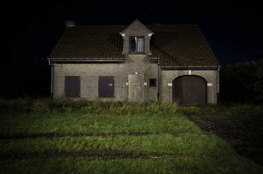 Une maison abandonn e photographie de sylvain mary for La maison des travaux avis