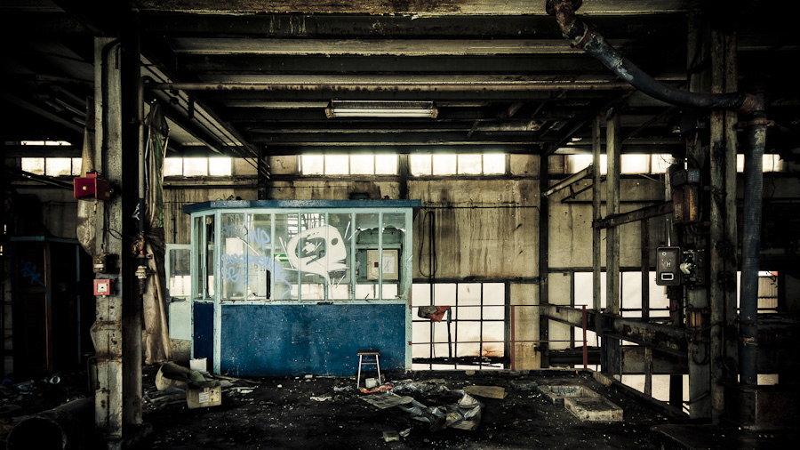 le bureau du chef usine yorkshire photographie de sylvain mary. Black Bedroom Furniture Sets. Home Design Ideas